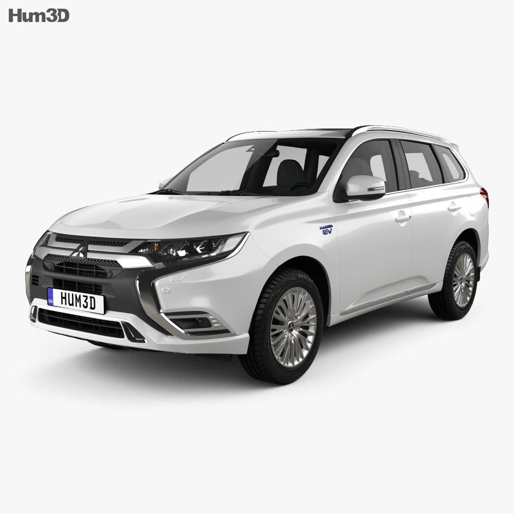 Ladeguiden Mitsubishi Outlander Plug in hybrid