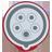 ikon Rød CEE 3-fas 16A / 32A